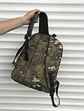 Спортивный мужской рюкзак камуфляжный, фото 4