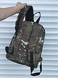 Спортивный мужской рюкзак камуфляжный с гербом, фото 3