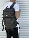 Военный качественный рюкзак хаки 25л, фото 2