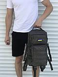 Военный качественный рюкзак хаки 25л, фото 3