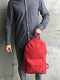 Красный мужской рюкзак 7 литров, фото 3
