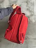 Красный мужской рюкзак 7 литров, фото 4