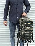 Камуфляжный тактический рюкзак на 35 литров, фото 3