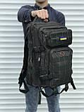Тактичний рюкзак зеленого кольору на 25 літрів, фото 2