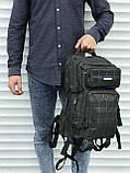 Тактичний рюкзак зеленого кольору на 25 літрів, фото 3