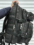 Тактичний рюкзак зеленого кольору на 25 літрів, фото 4