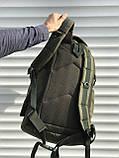 Тактичний чоловічий рюкзак на 40 літрів, зелений, фото 4
