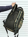 Якісний тактичний рюкзак (40 л) камуфляж, фото 3