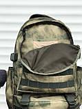 Якісний тактичний рюкзак (40 л) камуфляж, фото 5