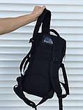 Качественный тактический рюкзак (25 л) черный, фото 5