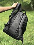 Качественный кожаный рюкзак для школы и спорта, Puma, фото 3