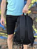 Спортивний рюкзак для школи та спорту Supreme, чорний, фото 5