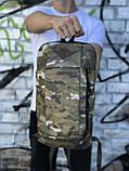 Чоловічий повсякденний рюкзак камуфляжний (невеликий), фото 4