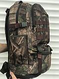 Рюкзак камуфляжный с раздвижным дном, 40л + 5л, фото 7