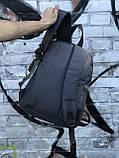 Качественный мужской серый рюкзак (17 л), фото 3