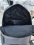 Качественный мужской серый рюкзак (17 л), фото 5
