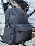 Качественный мужской серый рюкзак (17 л), фото 7