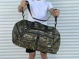 Большая дорожная сумка, камуфляжная (60 л.), фото 3