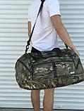 Большая дорожная сумка, камуфляжная (60 л.), фото 5