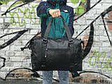 Мужская спортивная сумка из кожи, фото 3