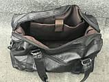 Мужская спортивная сумка из кожи, фото 5