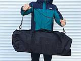 Большая дорожная сумка-рюкзак, черная (60 л.), фото 5