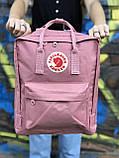 Рожевий рюкзак Fjallraven Kanken, фото 2
