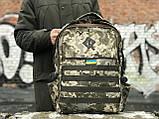 Стильний камуфляжний рюкзак з відділенням для ноутбука, фото 5
