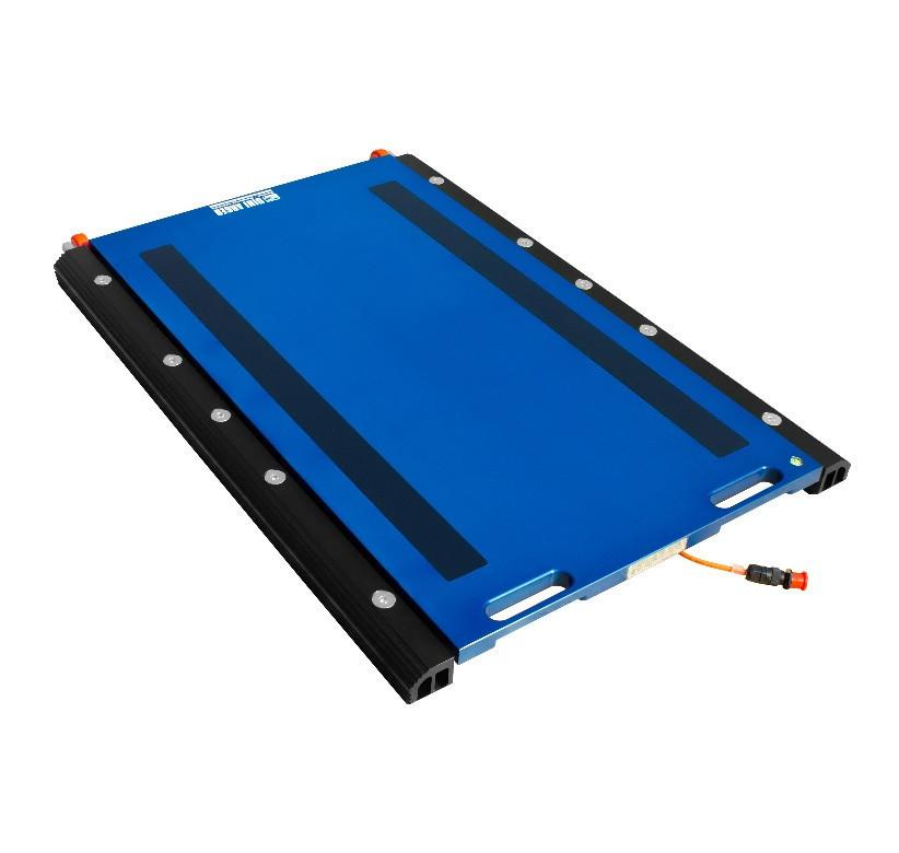 Проводные подкладные весы WWSE Dini Argeo 700×450 мм