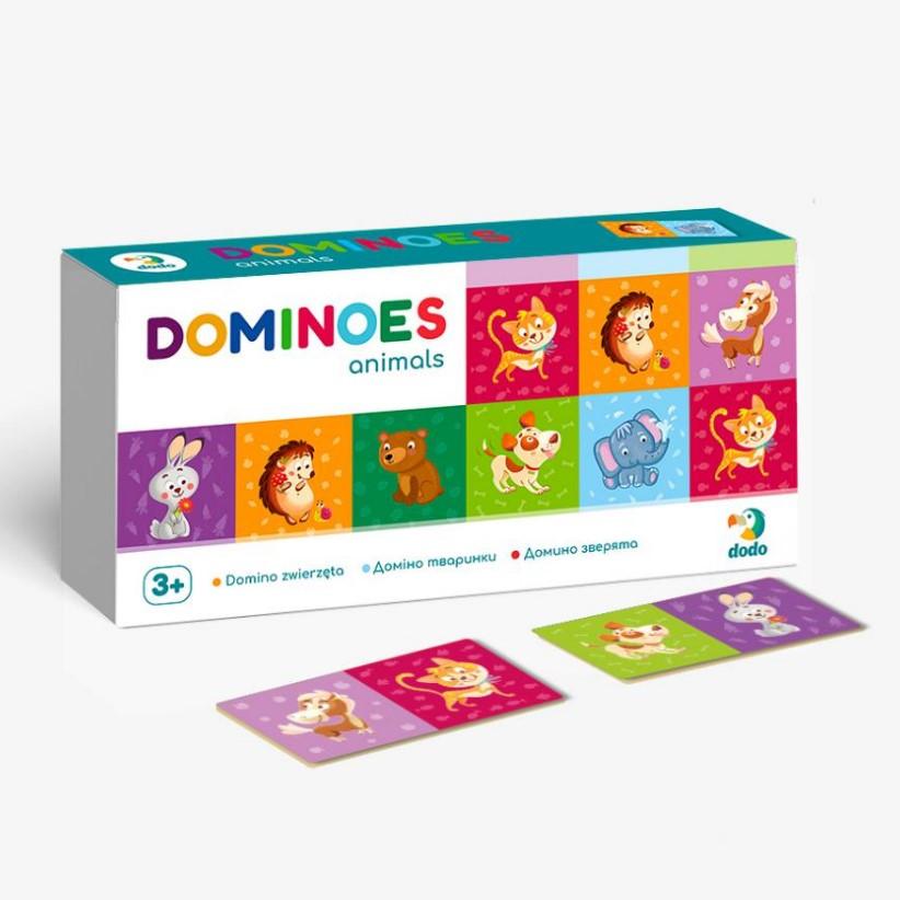 Игра Домино детское Dodo Животные 300248