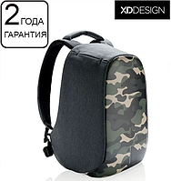 "Антикрадій рюкзак для ноутбука XD Design Bobby Compact Camouflage Green 14"" (P705.657), фото 1"