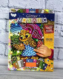 Блискуча мозаїка Glitter Mosaic Сова БМ-03-10 Danko-Toys Україна