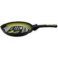 Сковорода OLIVE 24х4.5 см, покрытие Greblon C2 Pepper PR-2102-24 (102510)