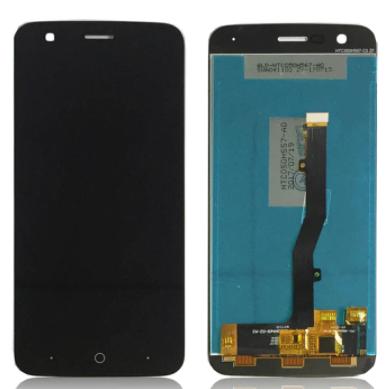 Дисплей (екран) для ZTE V8 Lite Blade з сенсором (тачскріном) чорний Оригінал, фото 2