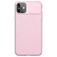 Защитный чехол Nillkin для iPhone 11 (CamShield Case) Pink с защитой камеры