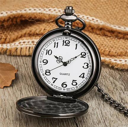 Карманные мужские часы на цепочке Death Note, фото 2