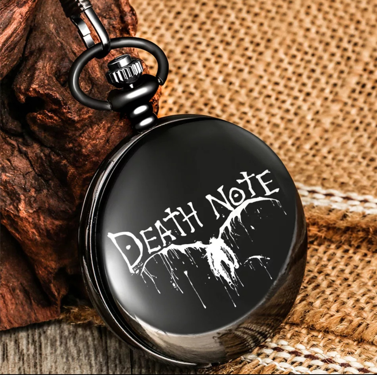 Карманные мужские часы на цепочке Death Note