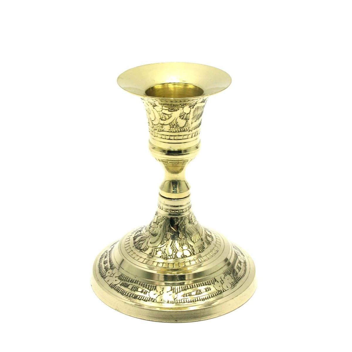 Подсвечник бронзовый на 1 свечу