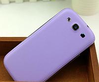Задняя фиолетовая крышка на Samsung Galaxy S3/S3 duos