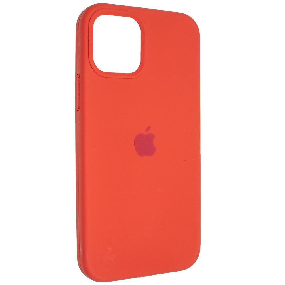 "Чехол Full Silicon iPhone 12 mini - ""Оранжевое настроение №13"""