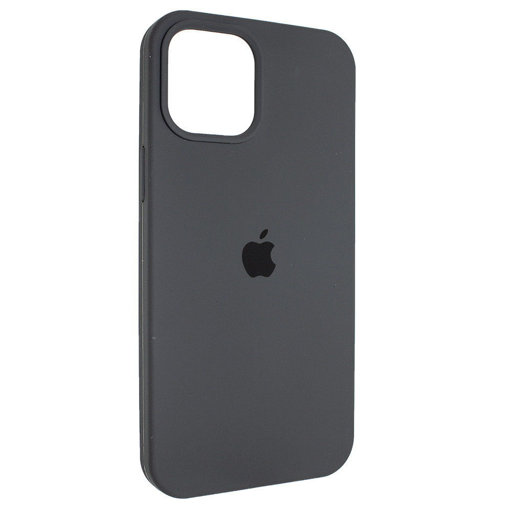 "Чехол Full Silicon iPhone 12 mini - ""Темная олива №34"""