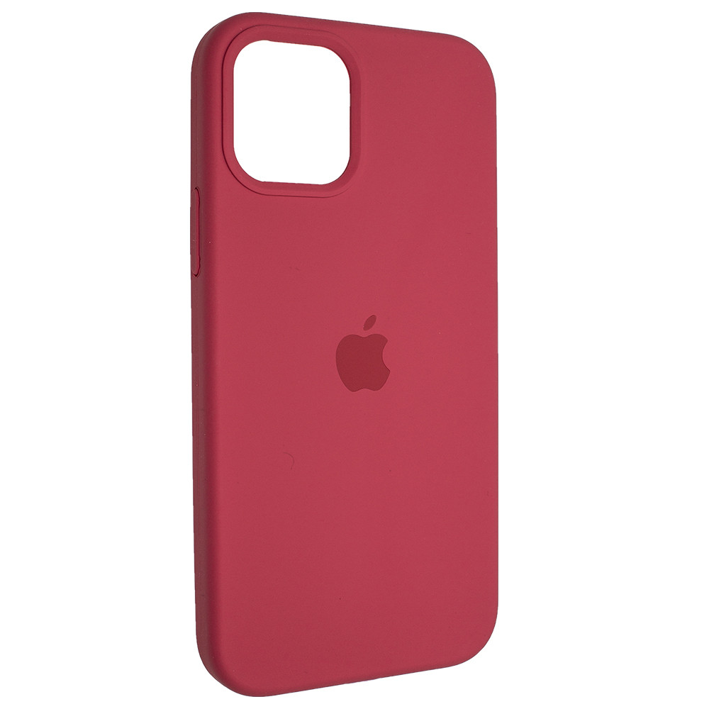 "Чехол Full Silicon iPhone 12 mini - ""Красная малина №39"""