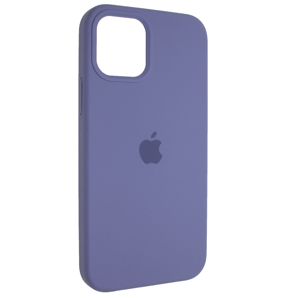 "Чехол Full Silicon iPhone 12 mini - ""Серая лаванда №46"""