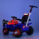 Дитячий легковий електромобіль-Трактор з ковшем M 4321LR-4-1, фото 6