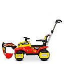 Дитячий легковий електромобіль-Трактор з ковшем M 4321LR-4-1, фото 8