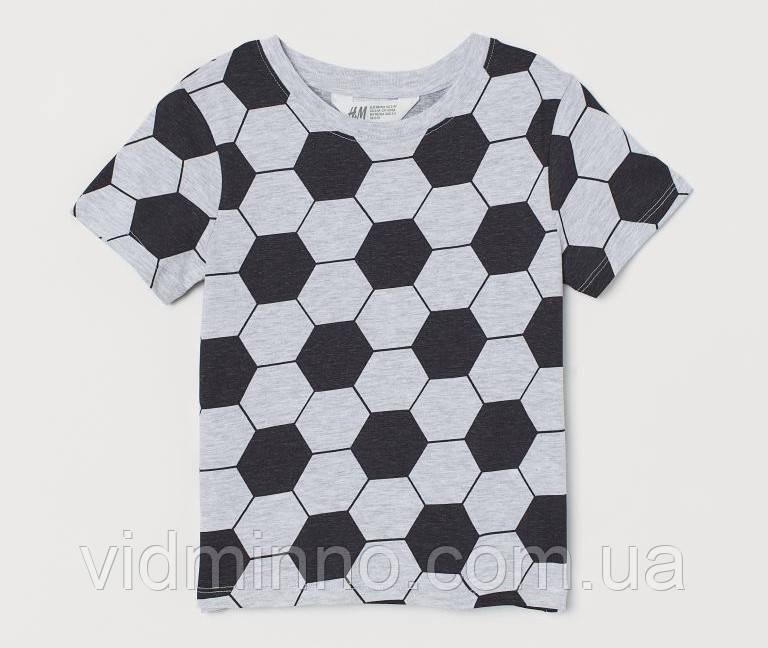Дитяча футболка для хлопчика H&M на зріст 98-104 см (2-4 роки)