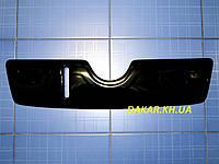 Зимова заглушка решітки радіатора Skoda Oktavia A5 верх 2004-2009 глянець Fly Утеплювач решітки Шкода Октавія, фото 1