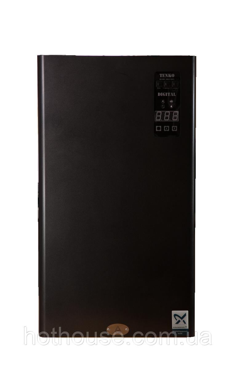 Котел электрический ТЭНКО Digital Standart Plus 18кВт 380В (SDКЕ+) Grundfos