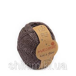 Трикотажний шнур з люрексом Knit & Shine, колір Тауп