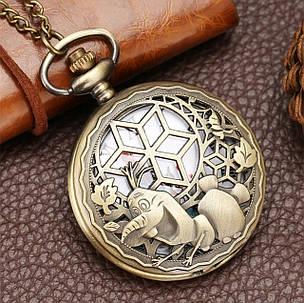 Карманные часы на цепочке Фрозен, фото 2